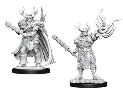 D&D Nolzur's Marvelous Unpainted Miniatures: Half-Orc Druid | Boutique FDB
