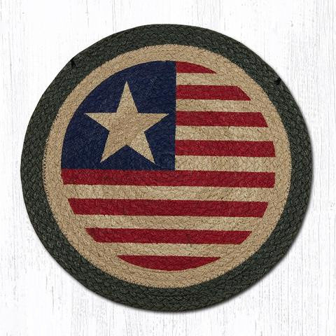 CH-1032 Original Flag Printed Chair Pad