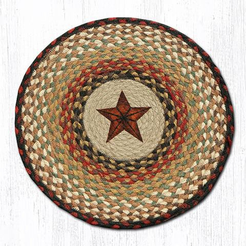 CH-019 Barn Star Printed Chair Pad