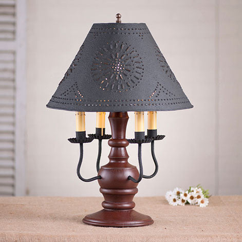 Cedar Creek Lamp with Shade - Sturbridge Series in 2 Color Choices