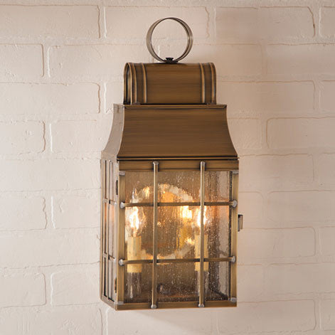 Washington Wall Lantern. Outdoor Lighting. 2 Color Choices