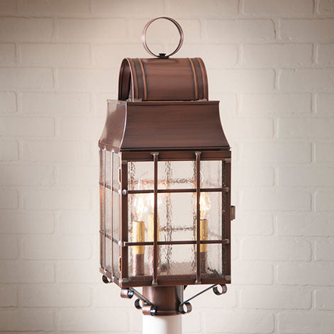 Washington Post Lantern. Outdoor Lighting. 2 Color Choices