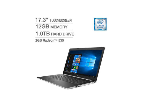 "17.3"" HP Core i5 8250u Laptop (Certified Refurbished)"