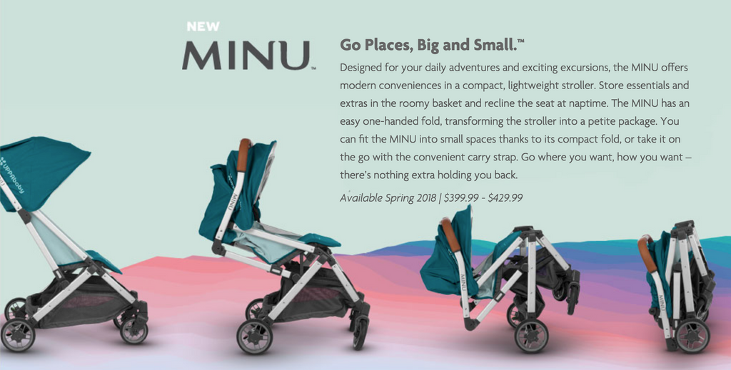 The MINU Can Take A Bassinet Or Mesa Car Seat For Full Travel System Toddler Comes Off When MESA Is In Real Sleek Look