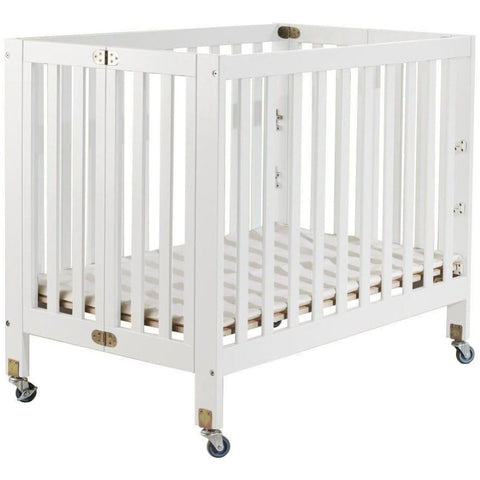 Orbelle Roxy 3 Level Mini Portable Crib + Free Mattress