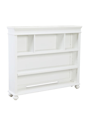 Legacy Classic Kids Madison  Bookcase/Hutch (3 Storage Areas, 1 Fixed Shelf, 1 Adjustable/Removable Shelf, Wire Access,