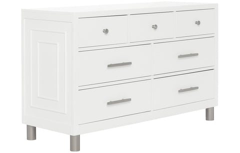 Evolur Art Deco Double Dresser