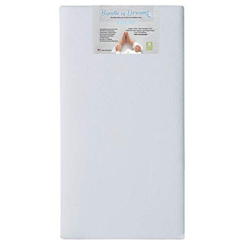 Eco-Air Organic Crib and Toddler Bed Mattress, Breathable, Hypoallergenic