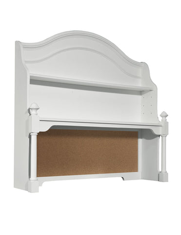 Legacy Classic Kids Madison  Desk Hutch (2 Shelves, Corkboard, Cord Access)
