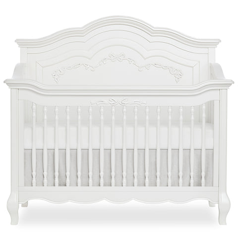 "Evolur Aurora ""5-in-1"" Convertible Crib With Dipped Footboard"