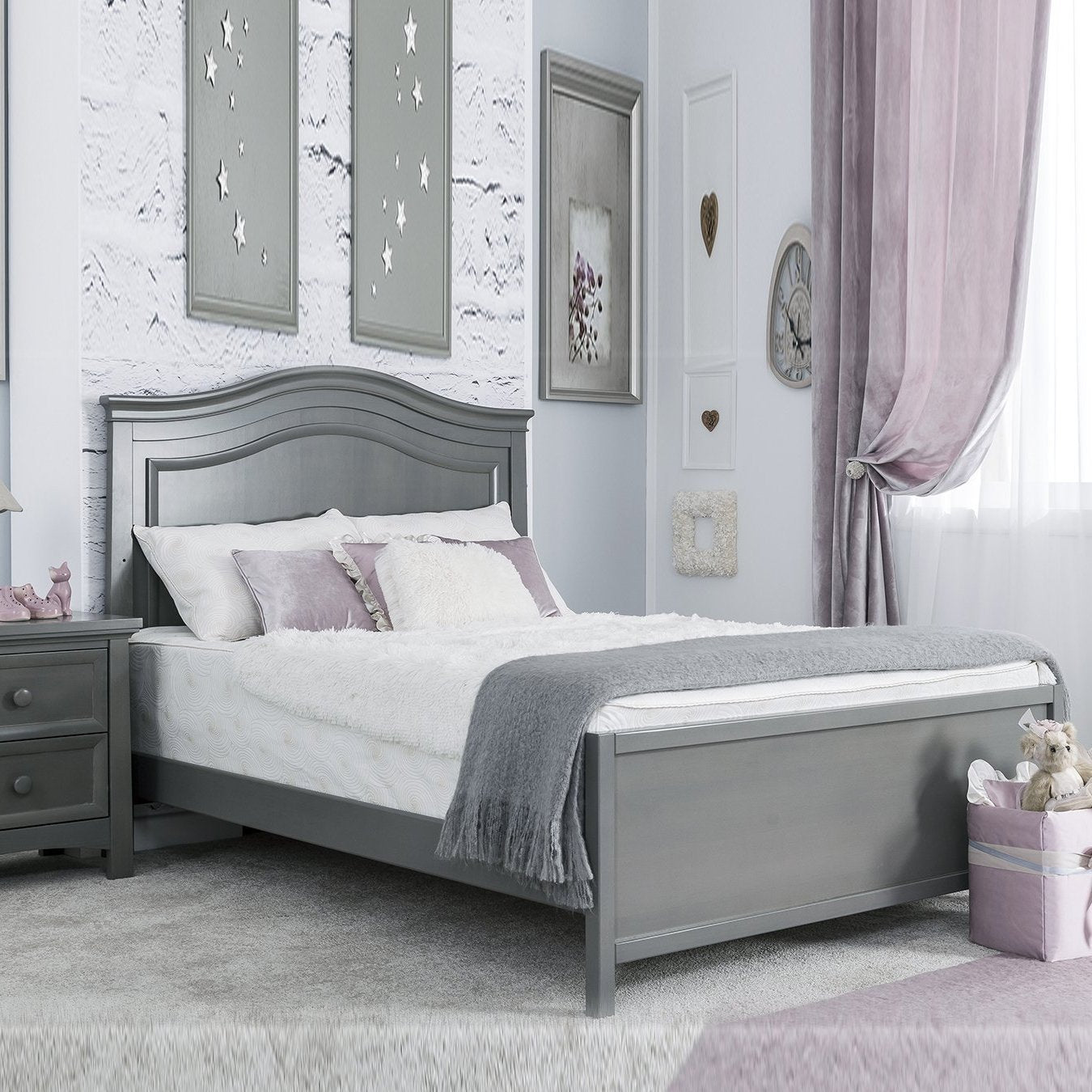Silva Serena Full Bed With Low Footboard