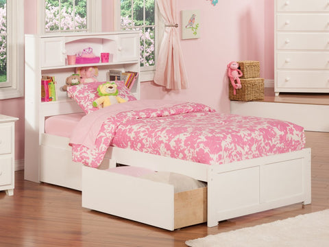 Newport bookcase Bed Twin