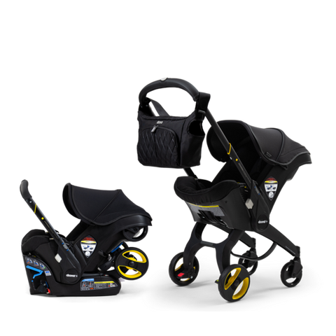 Doona Car Seat & Stroller - Midnight Edition