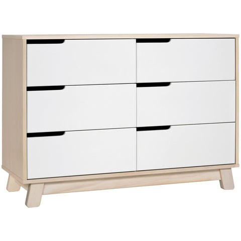 Hudson 6-drawer Double Dresser Babyletto