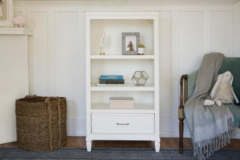 Darlington Bookcase in Warm White