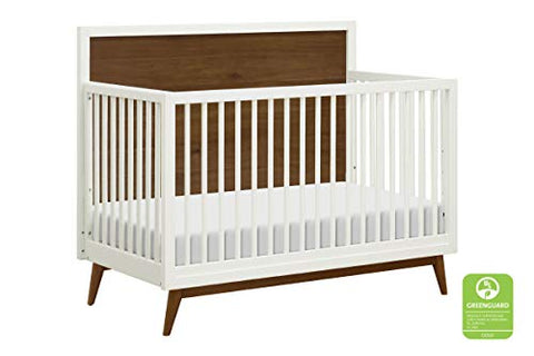 Babyletto Palma Mid-Century 4-in-1 Crib W/ Toddler Bed Conversion