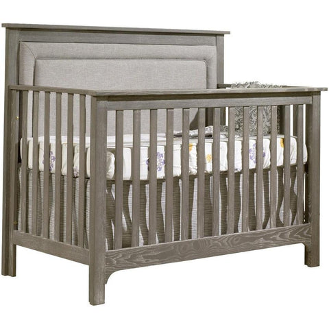"Nest Emerson ""5-in-1"" Convertible Crib with Upholstered Panel"