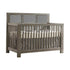 Natart Rustico ''5-in-1'' Convertible Crib With Upholstered Panel