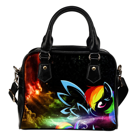 Pony Rainbow Leather Handbag