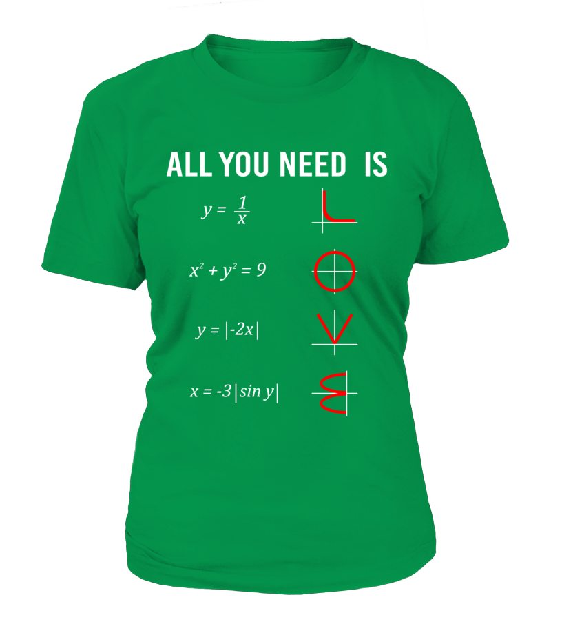 All you need is Love and Math T-Shirt
