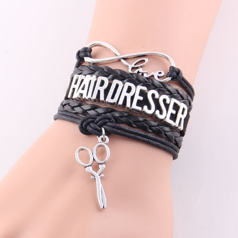Beautiful Love Hairdresser Bracelet