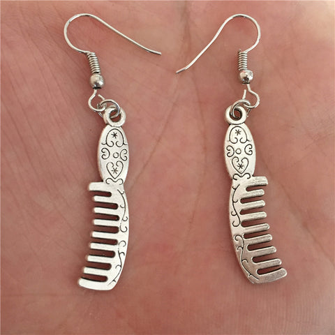 Hairdresser Comb Earrings