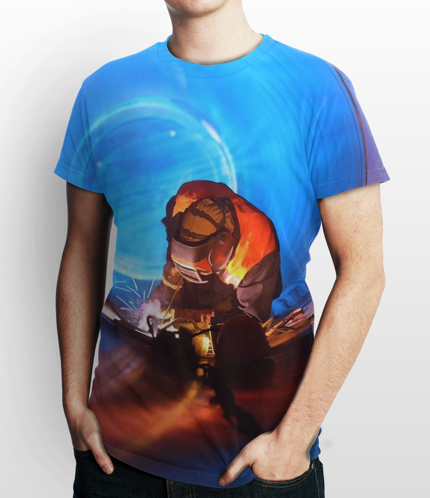 Welder Art 3D T-Shirt #5