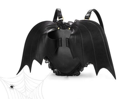 Backpack - Cute Little Devil Bat Wings Backpack