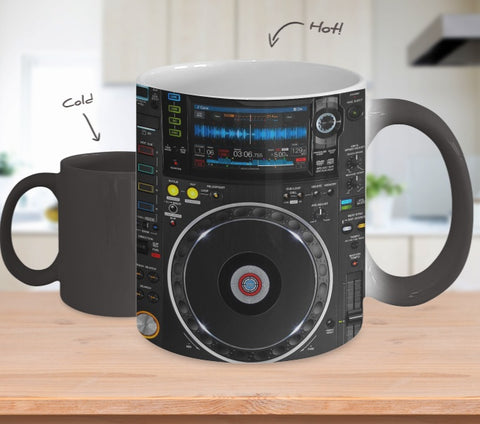 Mug - Dj Mixer Hot Color Changing Mug