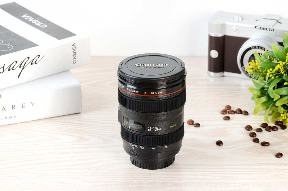 Mugs - Great Camera Lens Coffee Tea Mug For Photographers