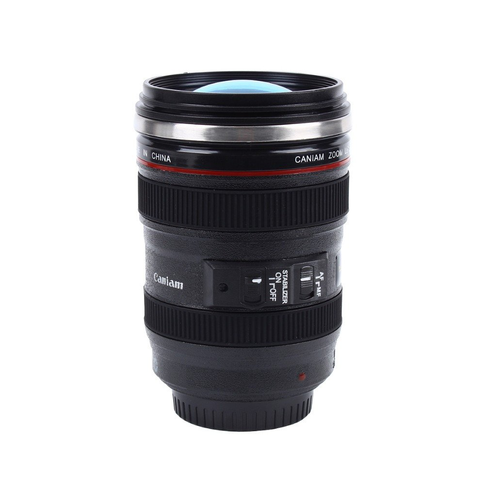 Mugs - Great Camera Lens Coffee Tea Stainless Steel Mug For Photographers