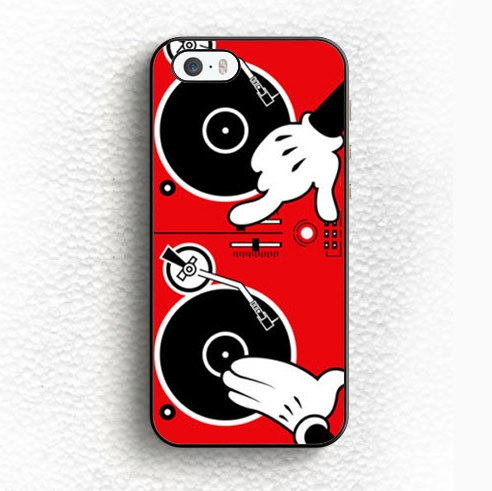 Phone Case - Cartoon Dj Turntable For IPhone