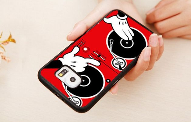Phone Case - Cartoon Dj Turntable For Samsung Phones