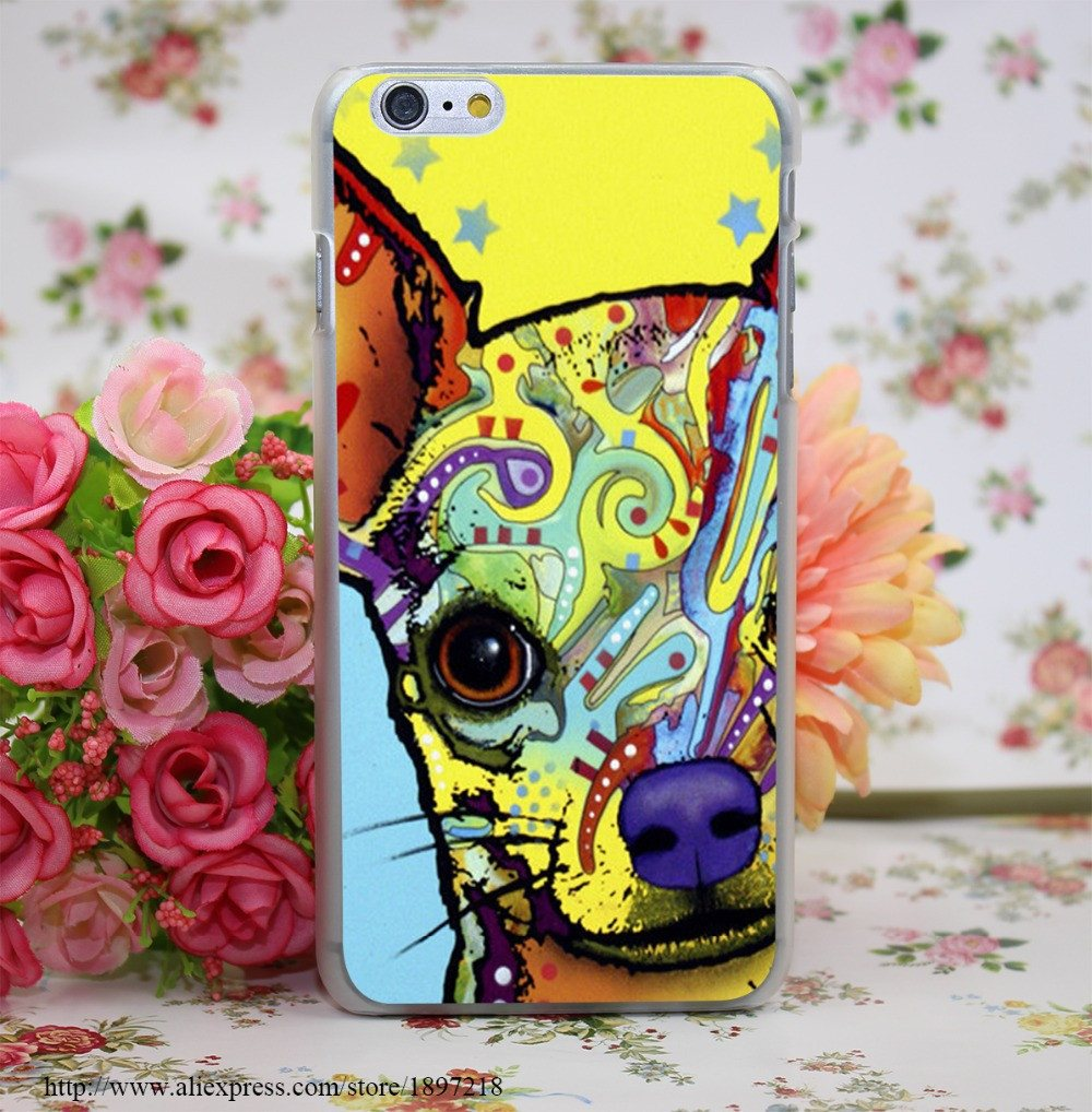 Phone Case - Chihuahua Cover Phone Case For Iphone 4 4s 5 5s 6 6s