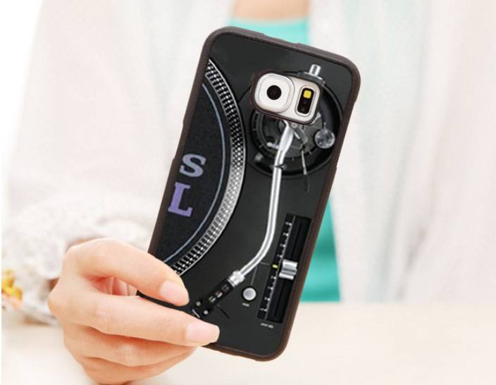 Phone Case - DJ Technics Turntable Classic Retro Phone Case For IPhones