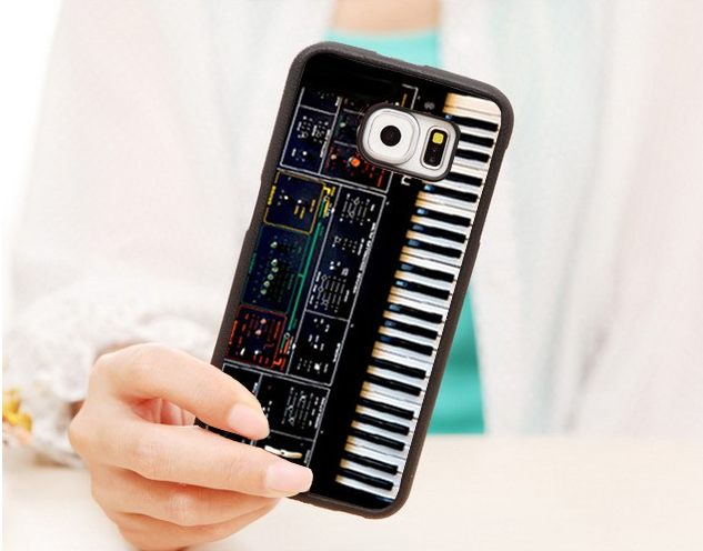 Phone Case - Synth Synthesizer Moog Soft Phone Case For Samsung