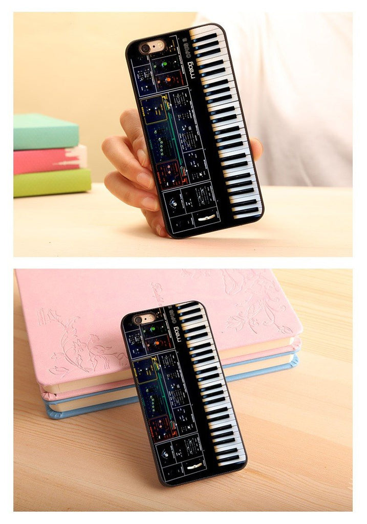 Phone Case - Synth Synthesizer Moog Soft TPU Phone Case For IPhone