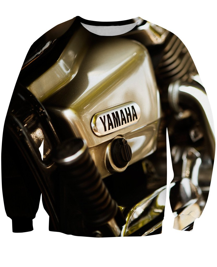 Sweatshirt - Motorcycle Amazing 3D Sweatshirt #2