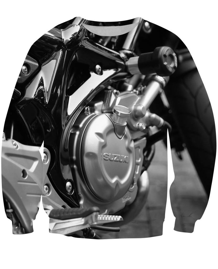 Sweatshirt - Motorcycle Amazing 3D Sweatshirt #3