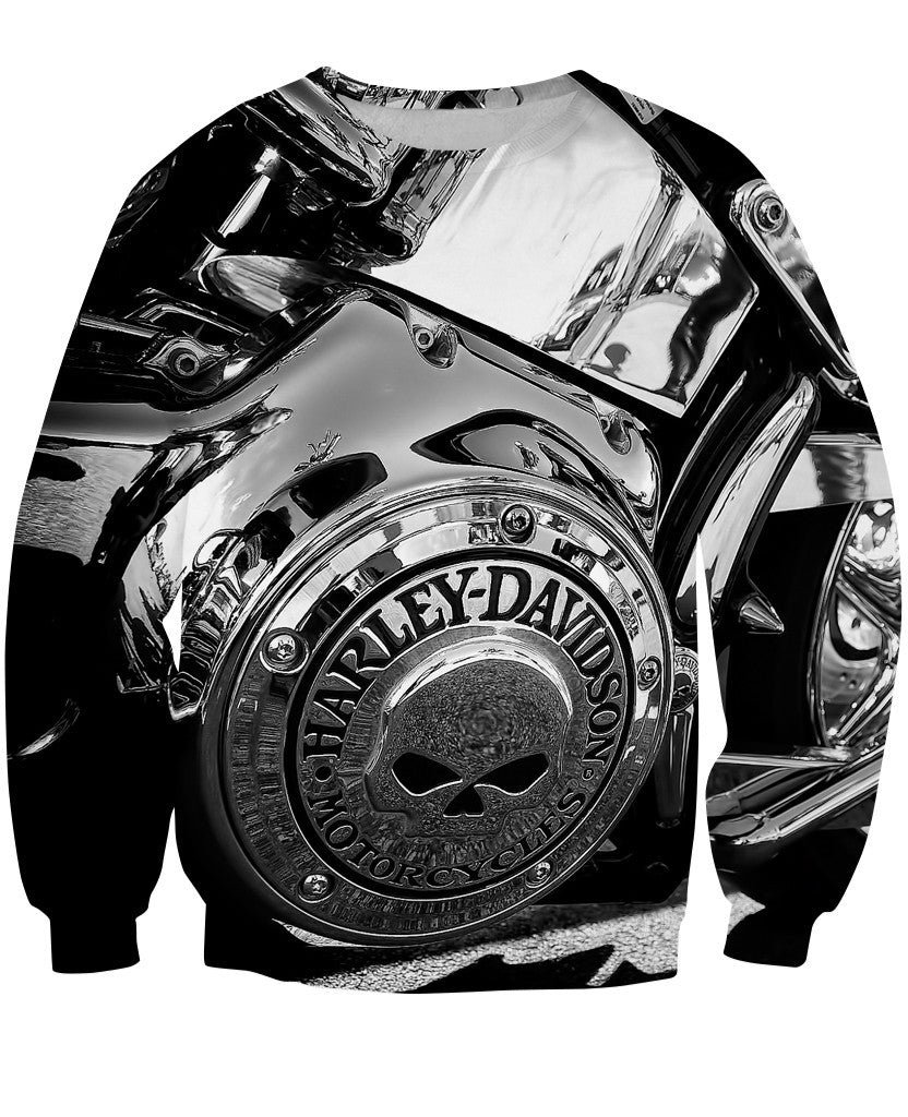 Sweatshirt - Motorcycle Amazing 3D Sweatshirt #5