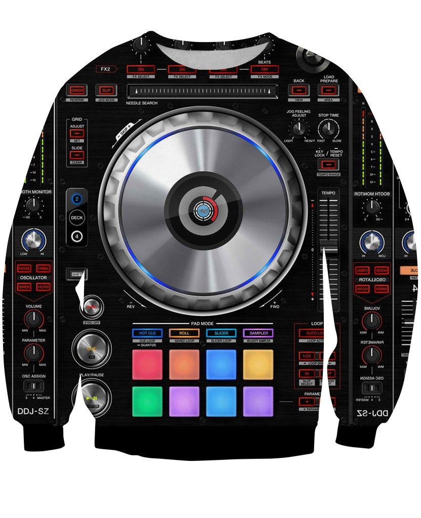 Sweatshirt - Music Mixer New 3D Sweatshirt #5