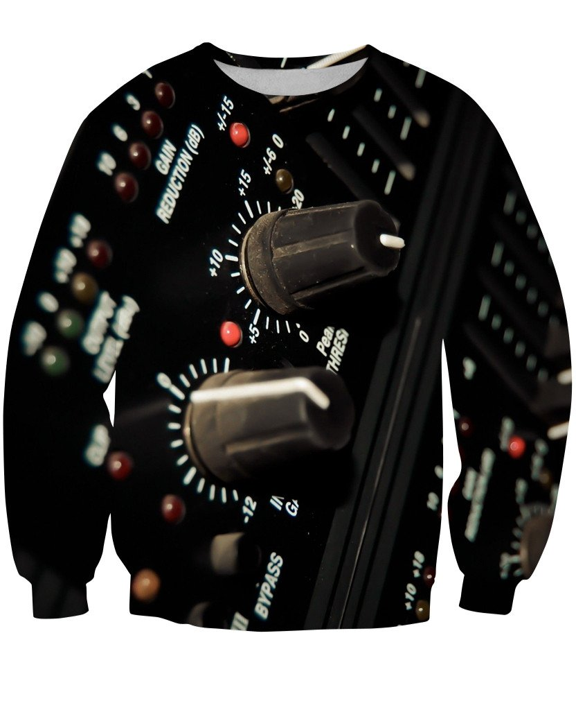 Sweatshirt - Music Studio Dj 3D Sweatshirt #1