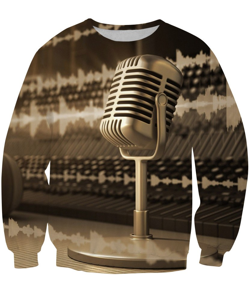 Sweatshirt - Music Studio Dj 3D Sweatshirt #3