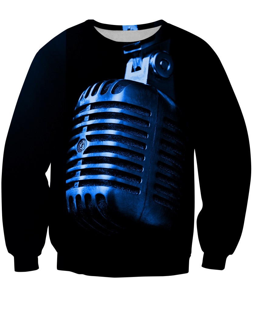 Sweatshirt - Music Studio Dj 3D Sweatshirt #7
