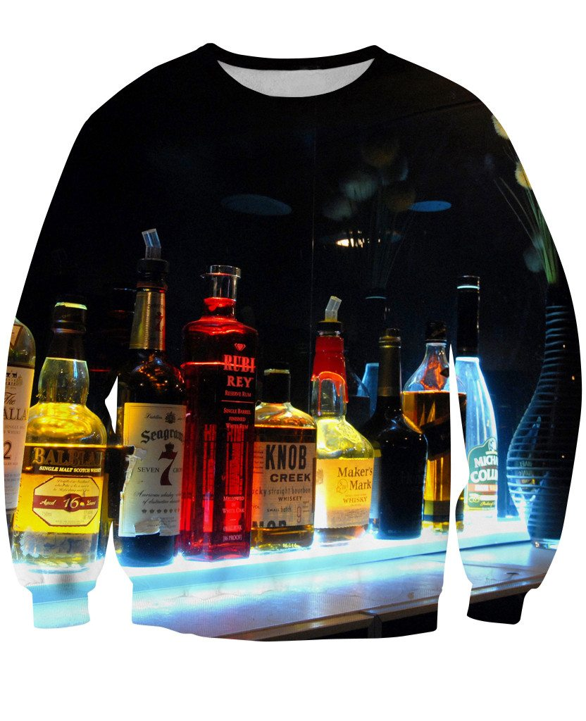 Sweatshirt - New Bartender Cocktail 3D Sweatshirt #10