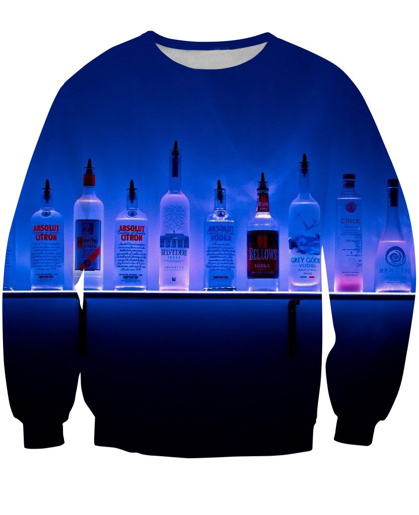 Sweatshirt - New Bartender Cocktail 3D Sweatshirt #3