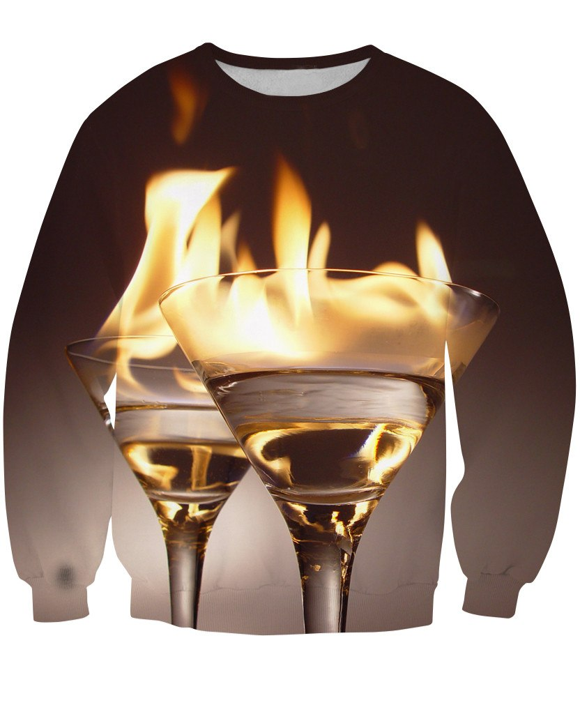 Sweatshirt - New Bartender Cocktail 3D Sweatshirt #7