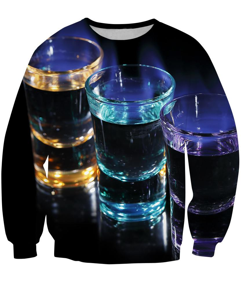 Sweatshirt - New Bartender Cocktail 3D Sweatshirt #8