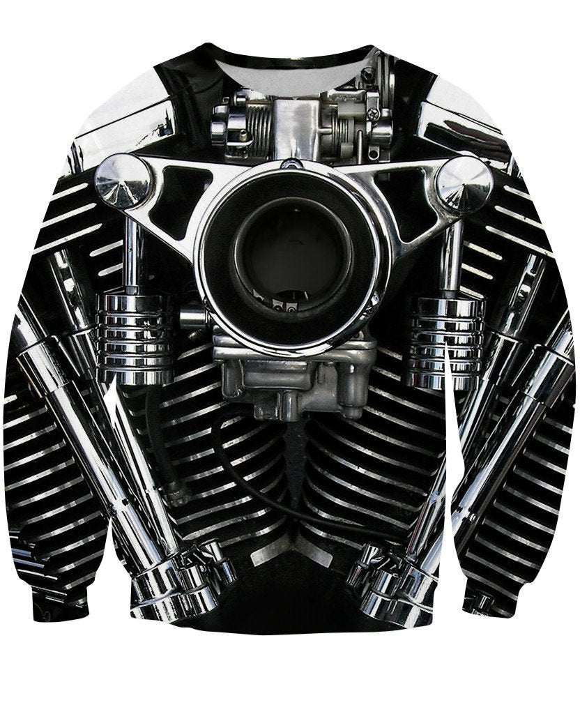 Sweatshirt - New Motorcycle 3D Sweatshirt #10