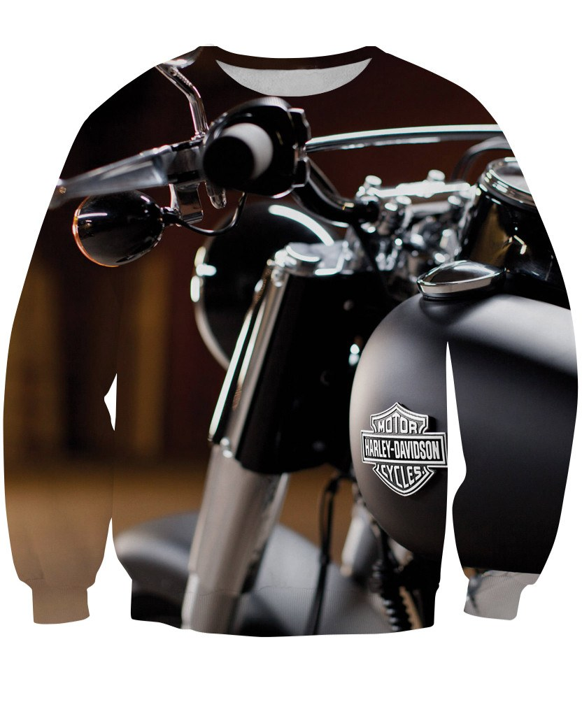 Sweatshirt - New Motorcycle 3D Sweatshirt #2